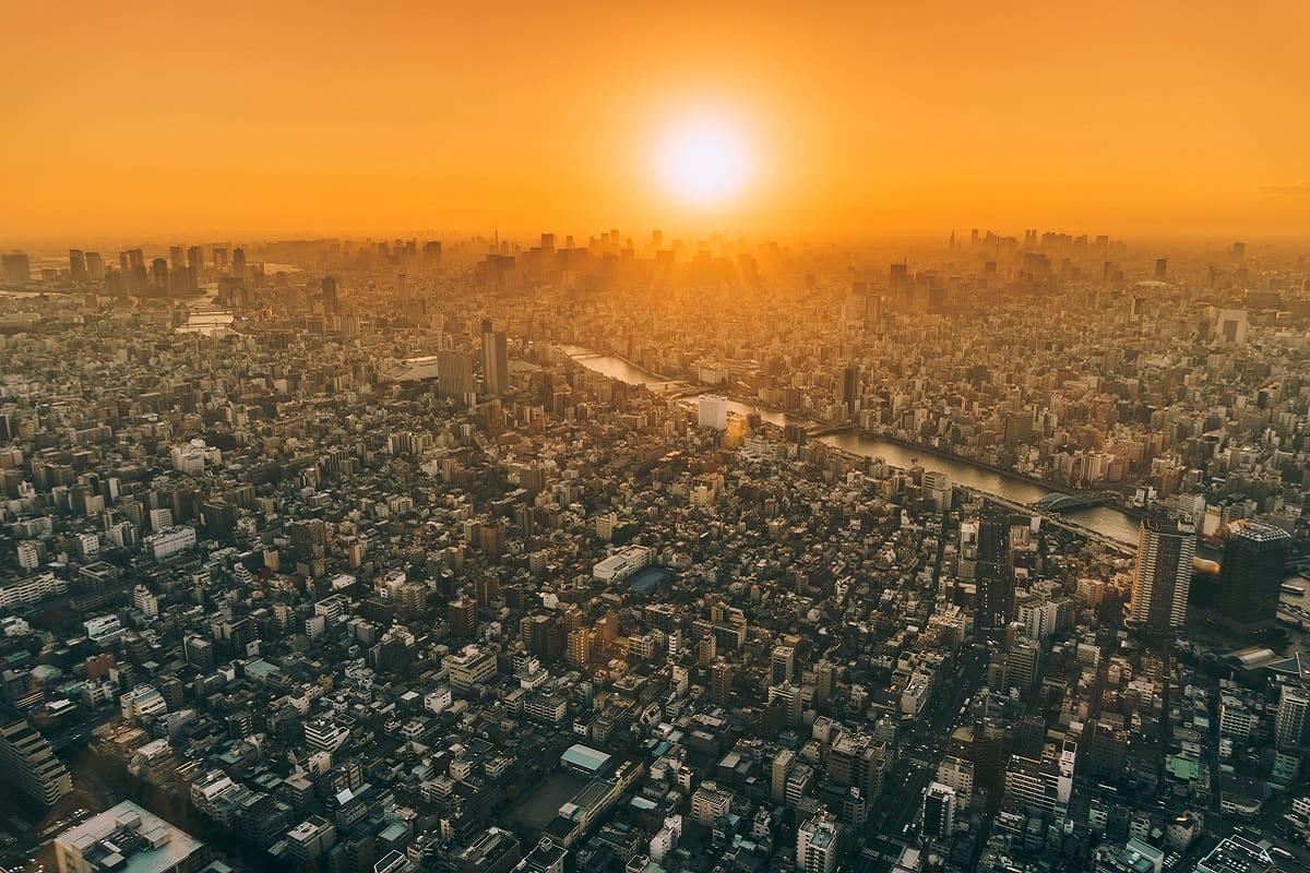 Von post-zivilisiertem Leben … Die Stadt, die keine ist