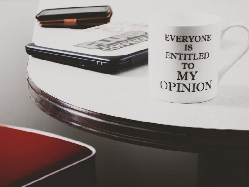 Alfredo M. Bonanno schreibt über Meinung. (Symbolfoto: Steve Johnson, Unsplash.com)