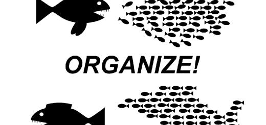Das NATO-Manöver Defender ist für 2020 geplant. Wer frisst wen? Selbstorganisation gegen die großen Fische. (Illustration: OpenClipart-Vectors, Pixabay.com)