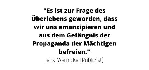 Die Öko-Katastrophe. Wider den Gehorsam. Vorwort von Jens Wernicke. (Grafik: Neue Debatte)