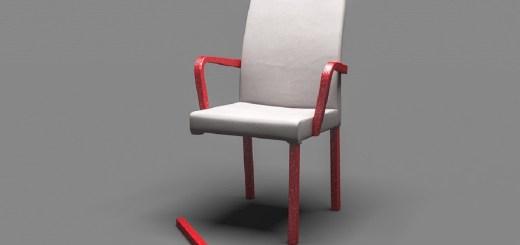 Stuhl mit abgebrochenem Bein als Symbol für den Showdon in der Ökologie. (Foto: Arek Socha, Pixabay.com)