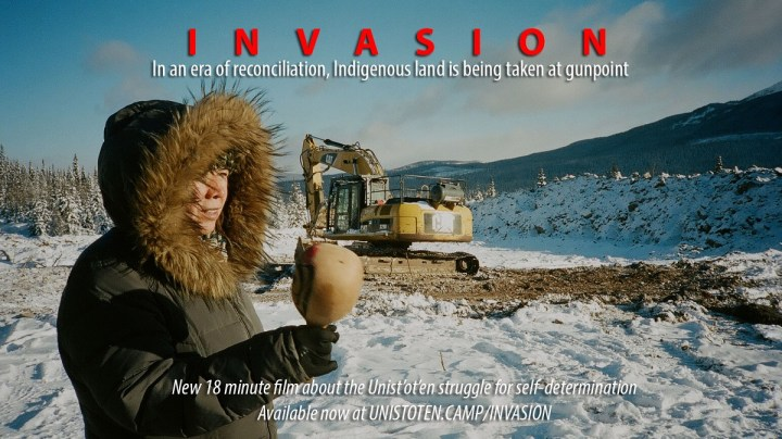 INVASION Web Poster (Image: unistoten.camp)