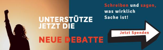 Unabhängige Medien aufbauen. Neue Debatte