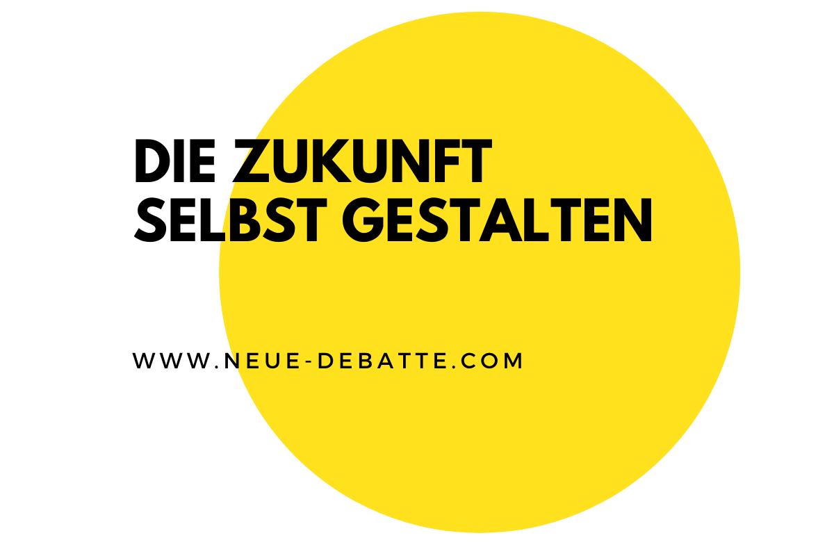 Ein Gespräch über die Zeit nach der Krise zwischen Jürgen Bonath und Gunther Sosna. (Illustration: Neue Debatte)