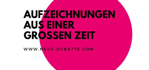 Franz Jung - Der Weg nach unten. (Illustration: Neue Debatte)