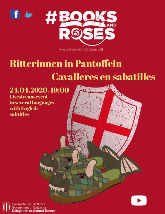 Ritterinnen in Pantoffeln Event Livestream 24. April 2020; 19 Uhr.