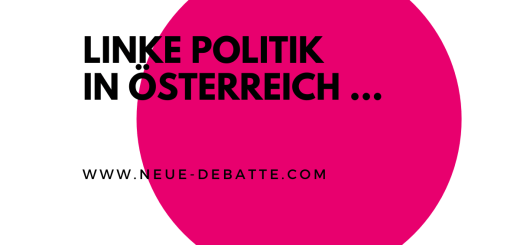 Ein Gespräch mit Robert Misik über linke Politik in Österreich. (Illustration: Neue Debatte)