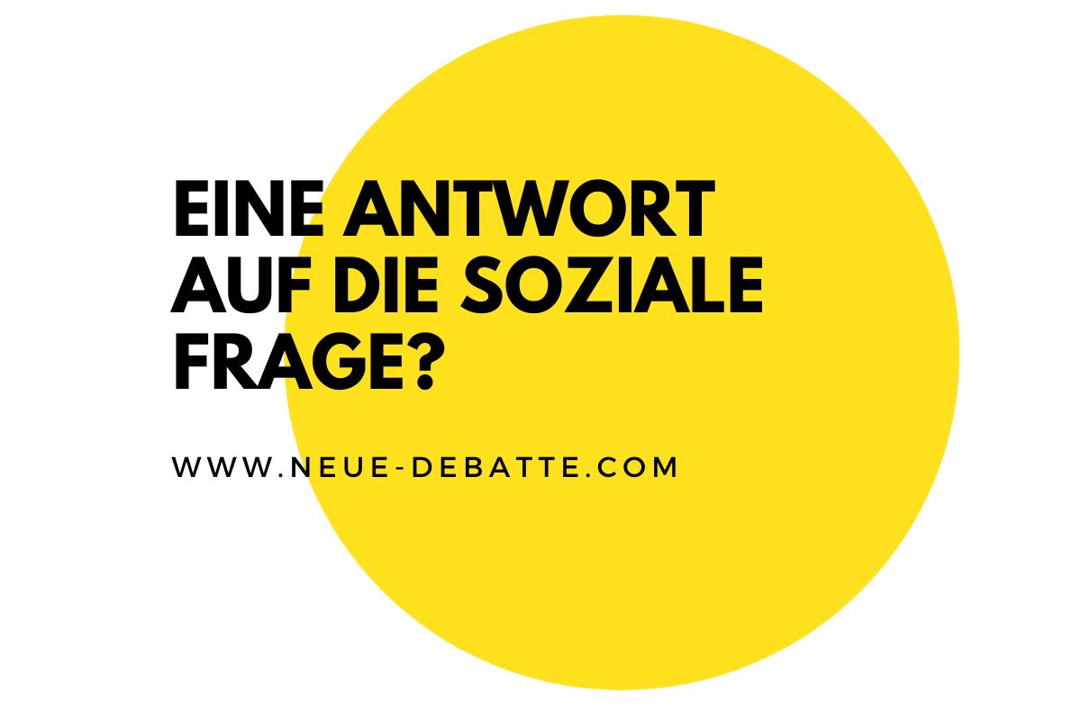 Stephan Bartunek von der Partei SÖZ spricht bei Reiner Wein über Migration und die soziale Frage. (Illustration: Neue Debatte)