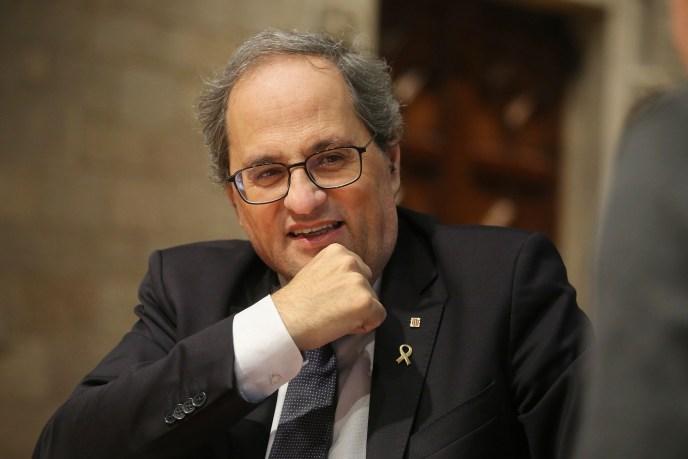 Quim Torra ist seit Mai 2018 Präsident von Katalonien. (Foto: Ruben Moreno)
