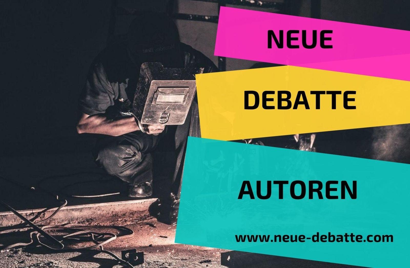 Neue Debatte Autoren