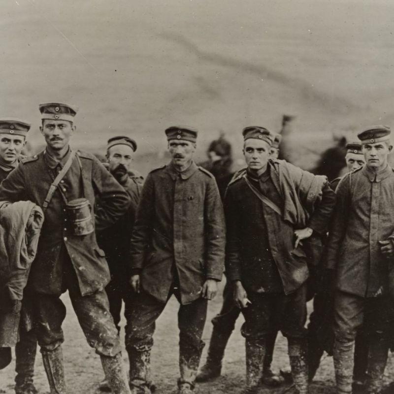Deutschland schickte Soldaten in zwei Weltkriege. Gefangene 1917. (Foto: The New York Public Library, Unsplash.com)