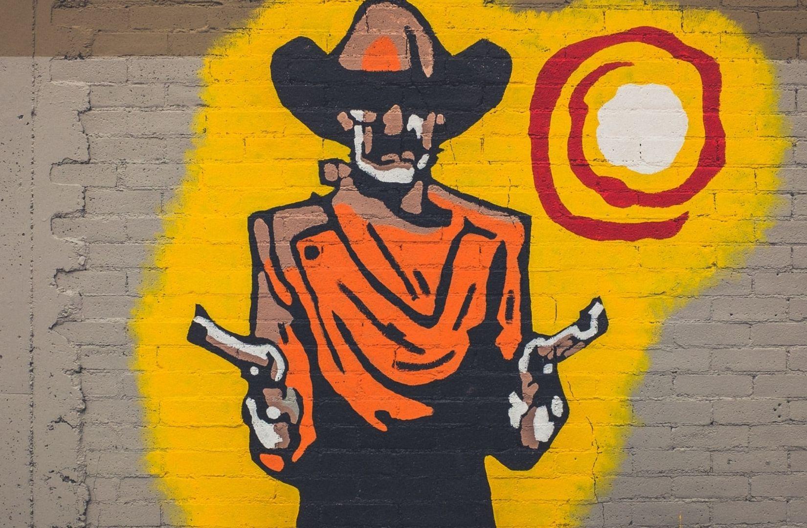 Die Diskussionen über Corona erinnern an eine Szene aus einem Spätwestern. (Symbolfoto: NeONBRAND, Unsplash.com)