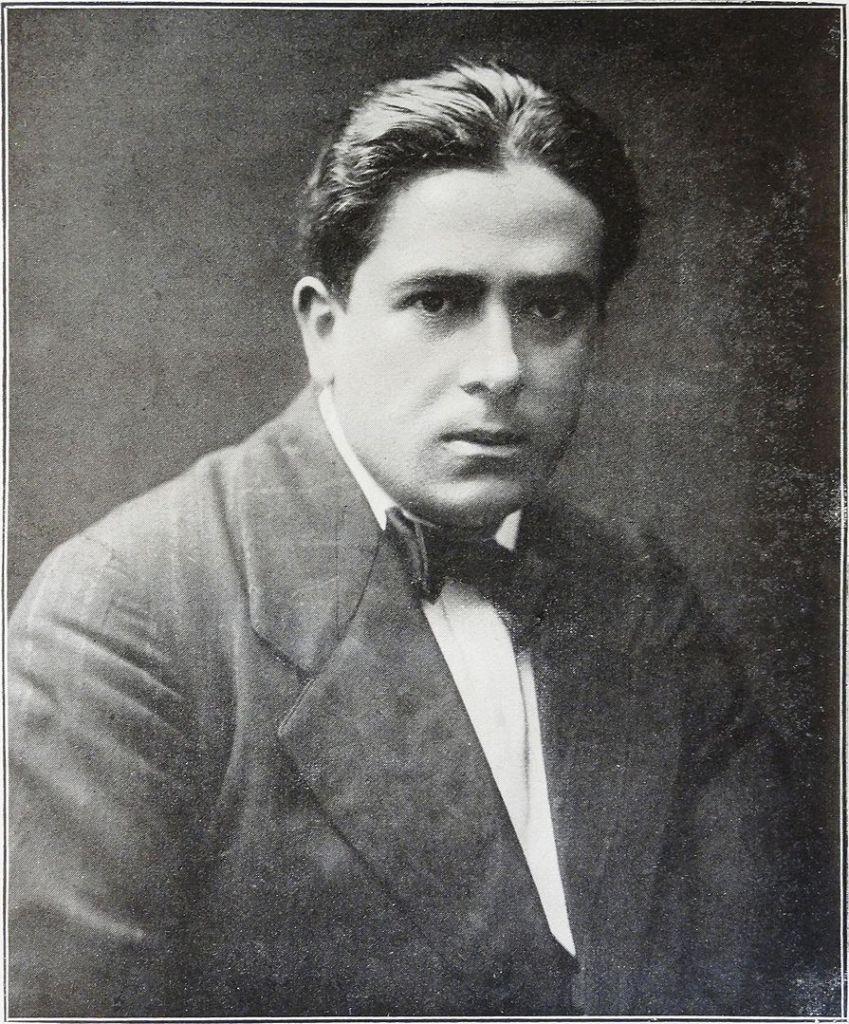 Francis Picabia 1913. (Foto: Guillaume Apollinaire, veröffentlicht in Les Peintres Cubistes, gemeinfrei).