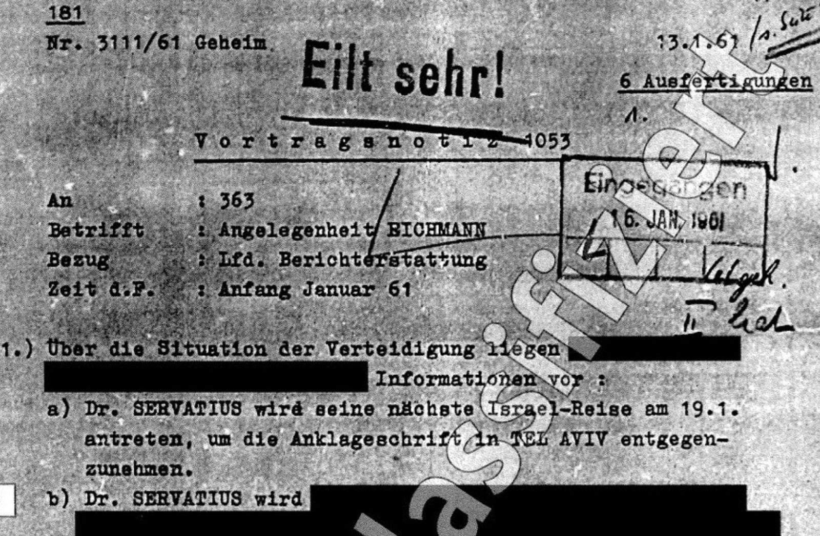 Der Fall Eichmann. (Foto: Gaby Weber)