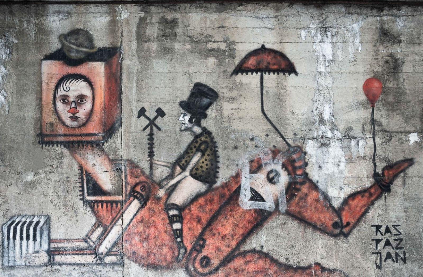 Wie sieht die Zukunft aus. Street Art in Polen. (Foto: Pawel Czerwinski, Unsplash.com)