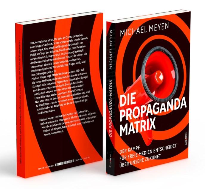 Michael Meyen, Die Propaganda-Matrix (Buchillustration: Rubikon)