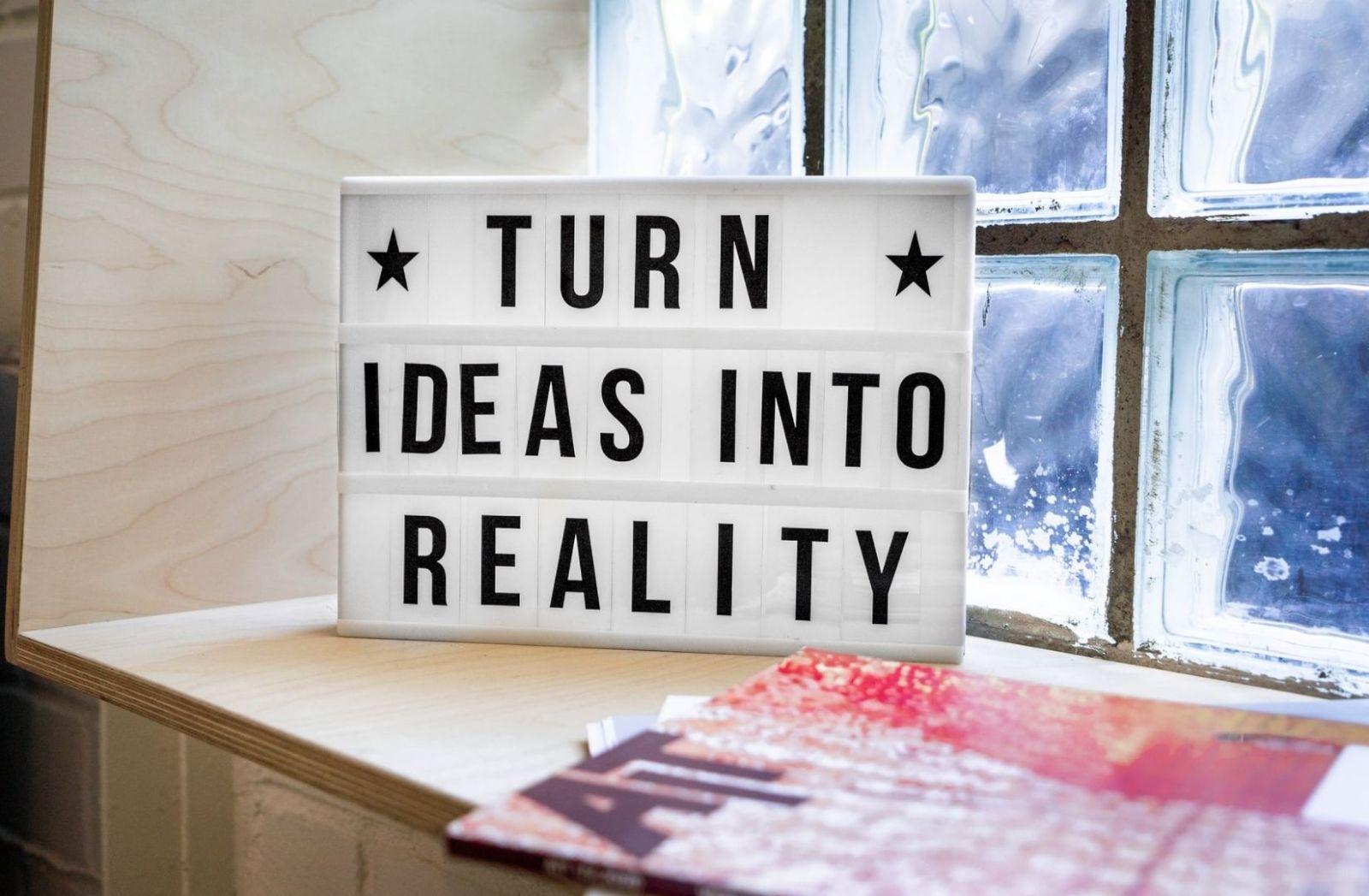 Ideen aus der Phantasie in Realität überführen. (Foto: Mika Baumeister, Unsplash.com)