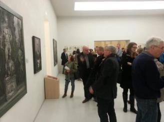 MHK_Die Sprache der Malerei. Hubertus Giebe_Ausstellungseröffnung 2016_Foto Ariane Wicht 2016 (13)