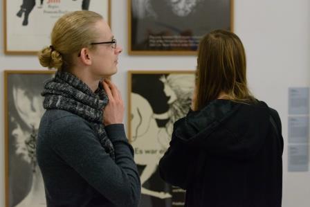 Eröffnung der Ausstellung PLAKAT KUNST KASSEL, Foto: Michael Wilfing