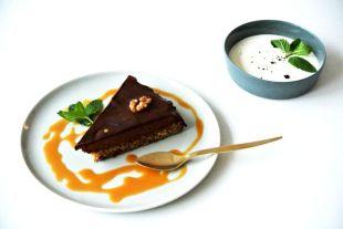 TCM Rezepte, fit essen, foodblog, glutenfrei, Walnüsse, Schoko Tarte