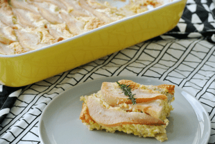 foodblog, fit essen, TCM Rezepte, Herbst, besser essen, glutenfrei, Hirse, Birnen, Eier, Auflauf