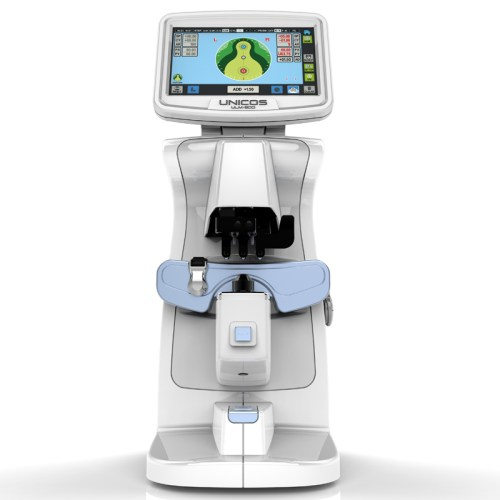 Digitaler Scheitelbrechwertmesser Unicos ULM-800 Frontalansicht