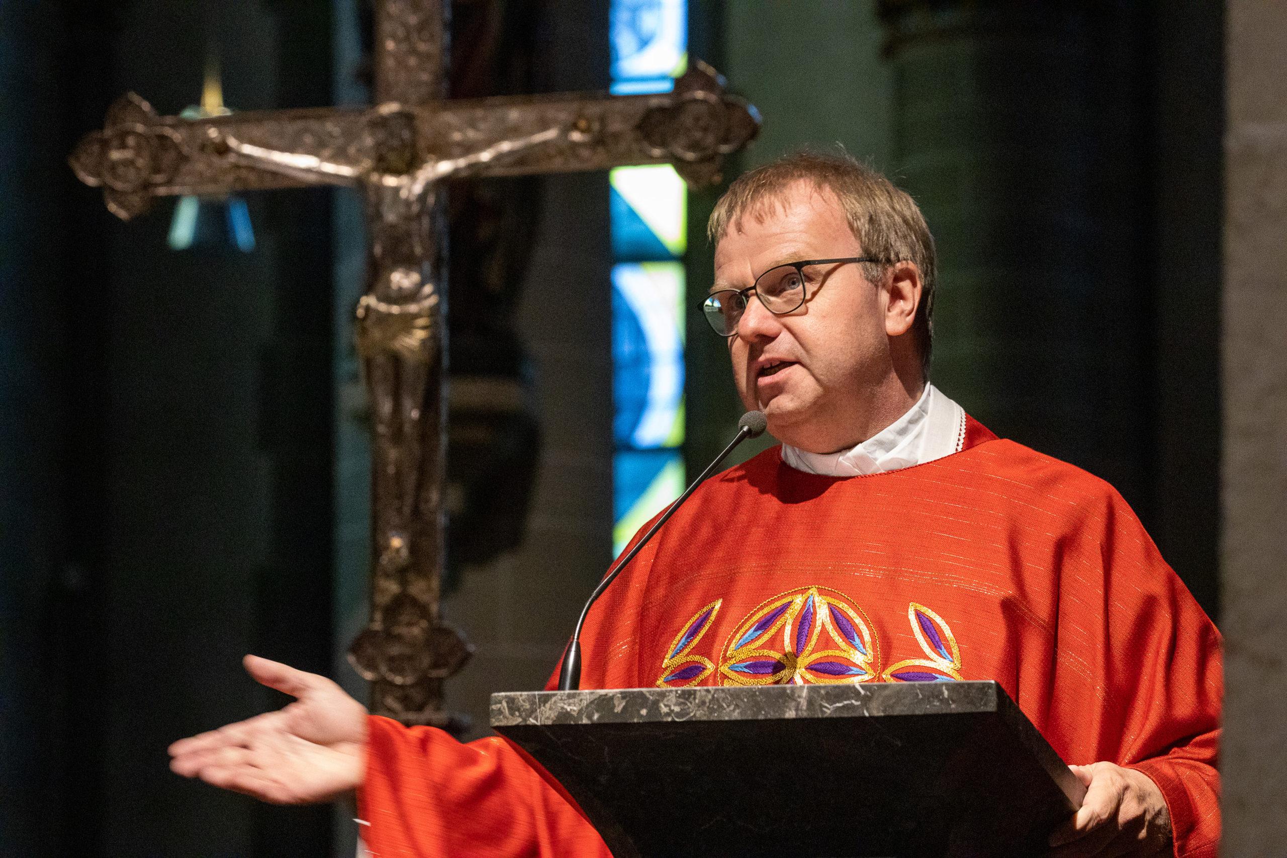 Domkapitular Dr. Michael Dörnemann. (Foto: Achim Pohl | Bistum Essen)