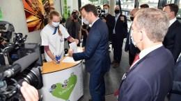 Besuch von Bundesgesundheitsminister Jens Spahn im St. Josef-Hospital Bochum. Foto: KKB
