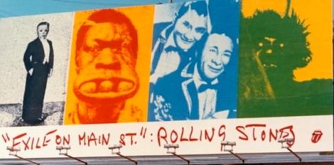 1972 Plakatwand in Los Angeles