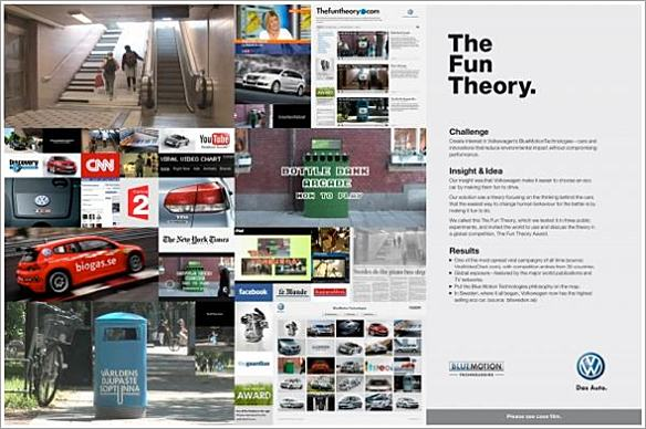 DDB Stockholm The Fun Theory