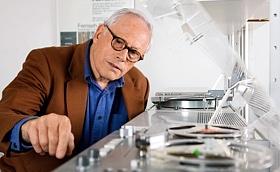 Braun Chefdesigner Dieter Rams. © dpa