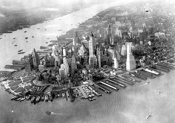 Manhattan ca. 1931