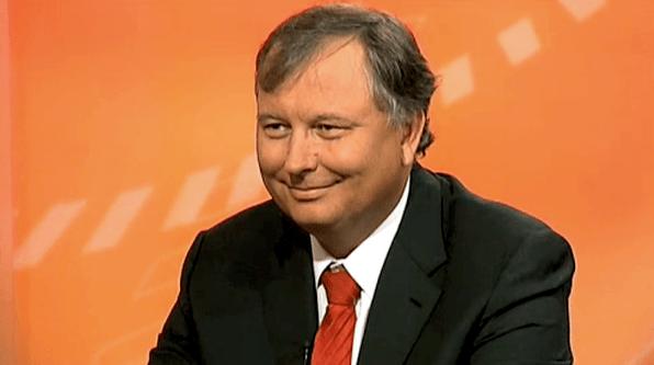 Agenturgründer Stefan Heller gestern im Regional Fernsehen