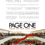 Page One Filmposter