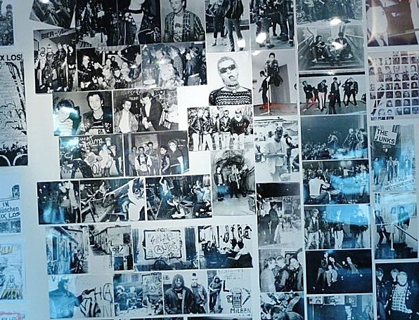Picture Wall, Punk in Munich, Damage Club