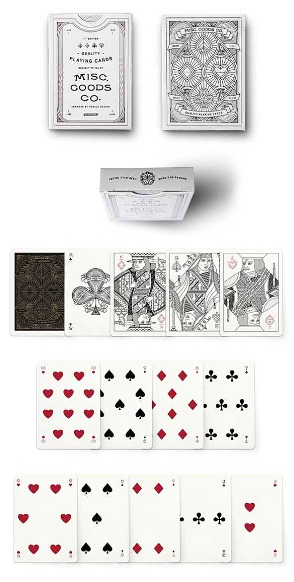 Misc. Goods Co. $15.00 First Edition Deck