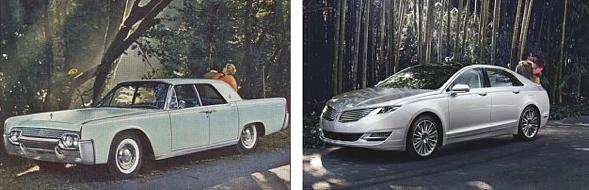 1961 Continental und heute