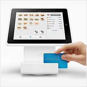 Swipe plastic card payments