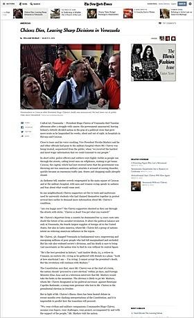 Neugestaltung der Online Ausgabe