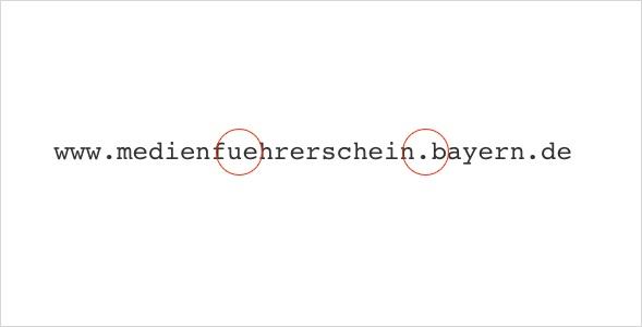 nutzlose URL am Beispiel Medienführerschein.bayern.de