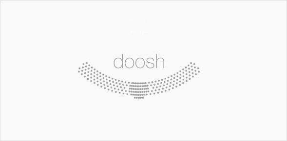 doosh Logotype und Graphik