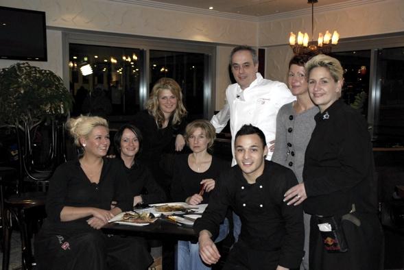 Chrisian Rach mit Wunderbar Team in Cottbus