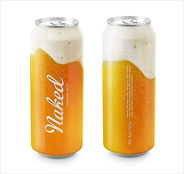 Naked Beer. Source: advertisments.us