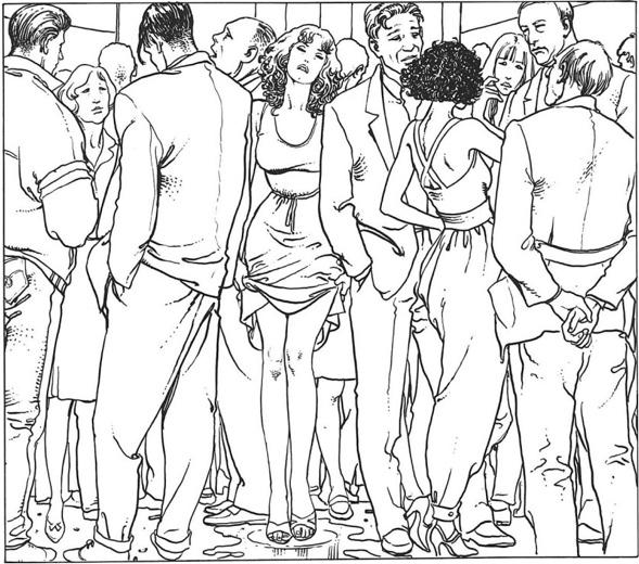 Eros Rules #2 Milo Manara Journal intime (1992)