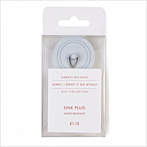 Harvey Nichols £1.13 Water resistant sink plug