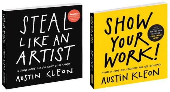 Austin Kleon books