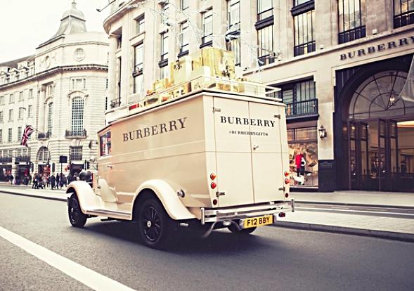 Burberry Van