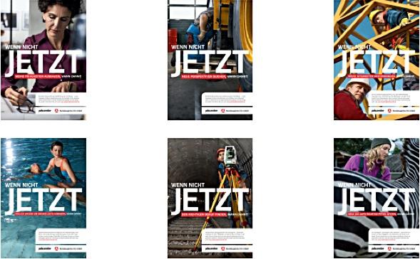 Jetzt Weiterbildungs-Anzeigenkampagne