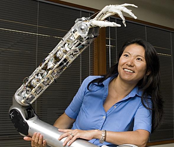 Yoky Matsuoka, the vice president of technology at Nest (ISU Tech)
