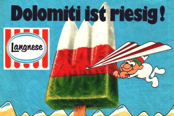 Dolomiti ist riesig